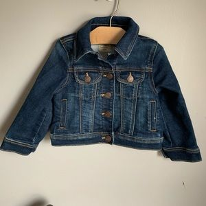 Baby Gap denim jacket with snaps 18/24